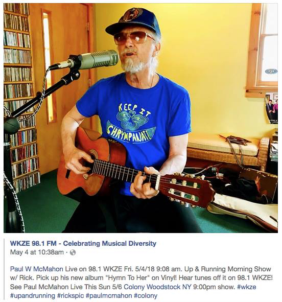 music : Paul McMahon – Singer, Songwriter and Artist